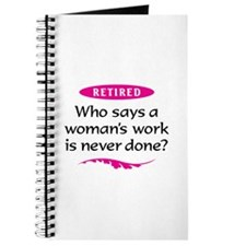 Retired Woman Journal
