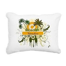 Varadero Rectangular Canvas Pillow