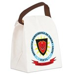 East Timor Coat Of Arms Canvas Lunch Bag