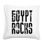 Egypt Rocks Square Canvas Pillow