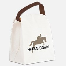 heels down jumper.png Canvas Lunch Bag