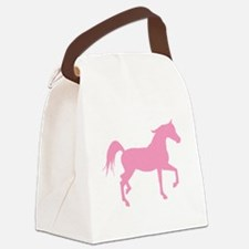 arabian horse pink.png Canvas Lunch Bag