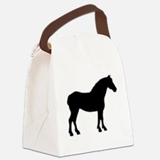 2-draft black.png Canvas Lunch Bag