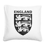 Vintage England Square Canvas Pillow