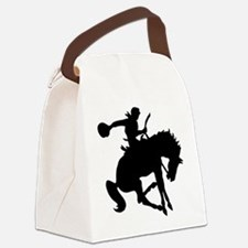 2-cowboy bronc one.png Canvas Lunch Bag
