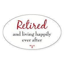 Happy Retirement Decal