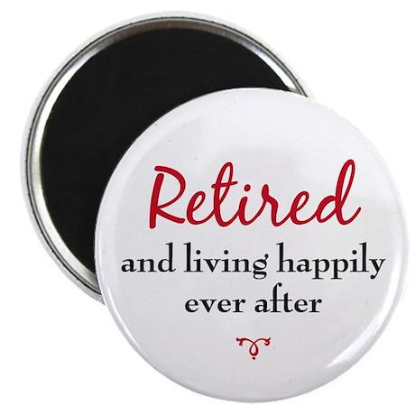 Happy Retirement Magnet