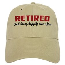Retirement Baseball Cap