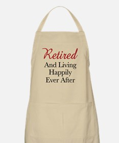 Happy Retirement Apron