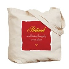 Happy Retirement Tote Bag