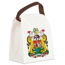 Bristol Coat Of Arms Canvas Lunch Bag