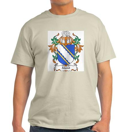 Aland Coat of Arms Ash Grey T-Shirt