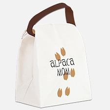Alpaca Mom Canvas Lunch Bag