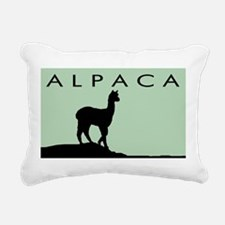 alpaca sage and black wdtxbd.jpg Rectangular Canva