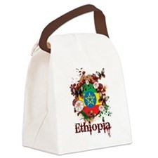 Butterfly Ethiopia Canvas Lunch Bag