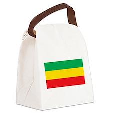 Ethiopia Flag Canvas Lunch Bag
