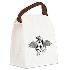 France Football Canvas Lunch Bag