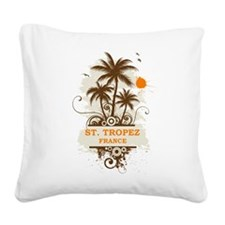 St. Tropez Square Canvas Pillow