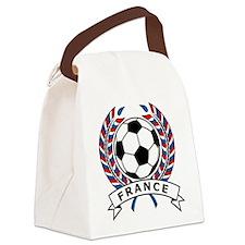 Soccer France Canvas Lunch Bag