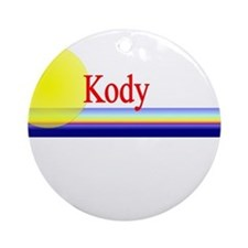Kody Ornament (Round)