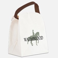 piaffe warmblood.png Canvas Lunch Bag