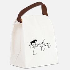 Cute Equestrian Canvas Lunch Bag