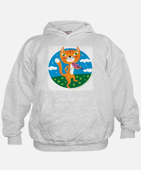 """""""The Cat and the Fiddle"""" Hoody"""