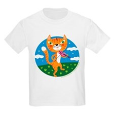 """The Cat and the Fiddle"" Kids T-Shirt"