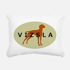 vizsla dog Rectangular Canvas Pillow