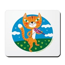 """The Cat and the Fiddle"" Mousepad"