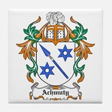 Achmuty Coat of Arms Tile Coaster