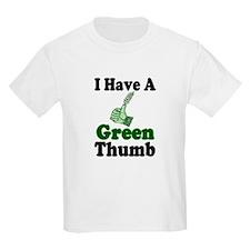I Have A Green Thumb Kids T-Shirt
