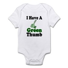 I Have A Green Thumb Infant Creeper
