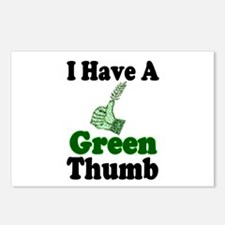 I Have A Green Thumb Postcards (Package of 8)
