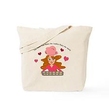 Cute Baker Girl Graphic Tote Bag
