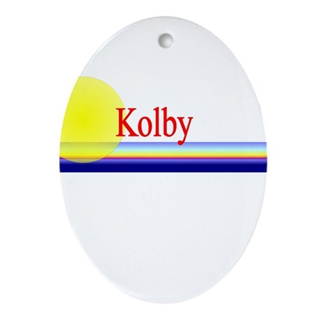 Kolby Oval Ornament