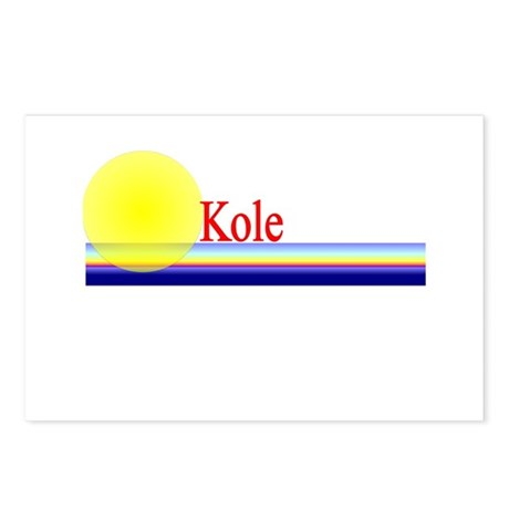 Kole Postcards (Package of 8)