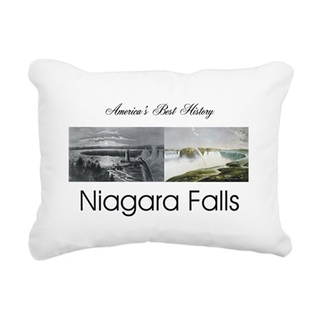 ABH Niagara Falls Rectangular Canvas Pillow