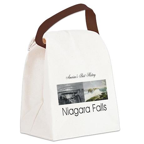 ABH Niagara Falls Canvas Lunch Bag