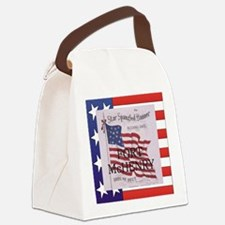ABH Fort McHenry Canvas Lunch Bag