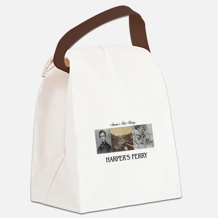 Harper's Ferry Americasbesthistor Canvas Lunch Bag