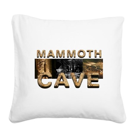 ABH Mammoth Cave Square Canvas Pillow