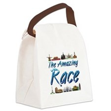 The Amazing Race Canvas Lunch Bag
