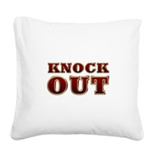 Christie for President 2016 Square Canvas Pillow