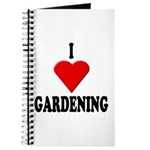 I Love Gardening Journal