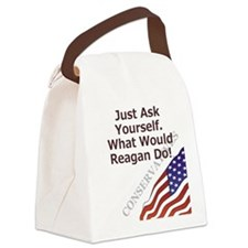 Conservative Mantra Canvas Lunch Bag