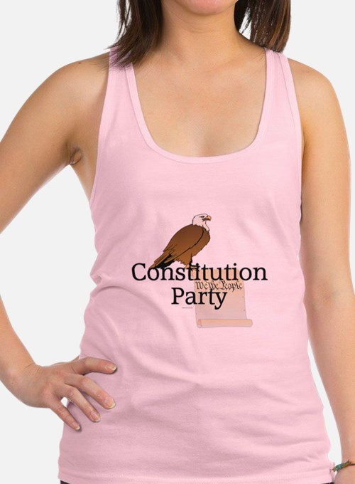 Constitution Party Racerback Tank Top