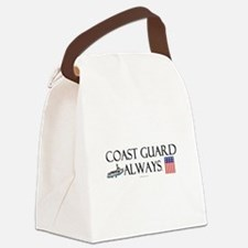 Coast Guard Always Canvas Lunch Bag