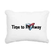 Time to Fly Away Rectangular Canvas Pillow