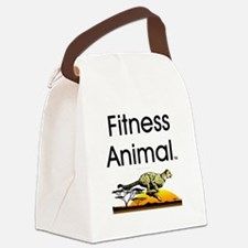 TOP Fitness Animal Canvas Lunch Bag